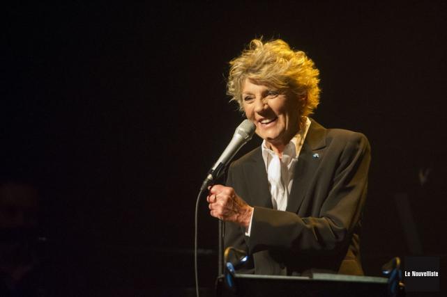 Pour son tout dernier spectacle en carrière dans... (Photo: Stéphane Lessard, Le Nouvelliste)