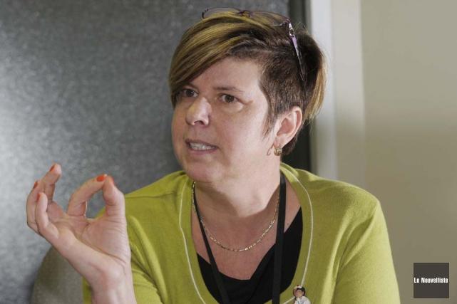 Lucie Tremblay, présidente de l'Ordre des infirmiers et... (Photo: Sylvain Mayer, Le Nouvelliste)