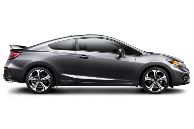 La Honda Civic Si Coupe... (Photo fournie par Honda)