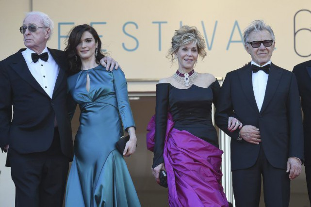 Partageant la vedette avec Rachel Weisz, Jane Fonda... (Photo: AFP)