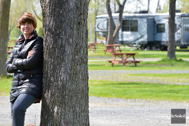 Selon la présidente du Conseil canadien du camping... (Le Soleil, Yan Doublet)