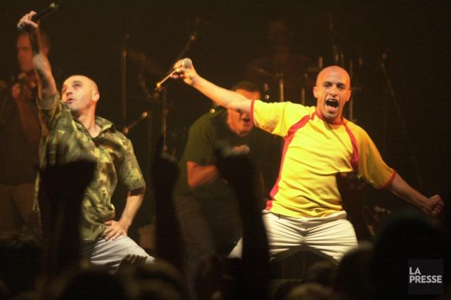Zebda en concert dans le cadre des FrancoFolies... (Photo: Robert Skinner, archives La Presse)