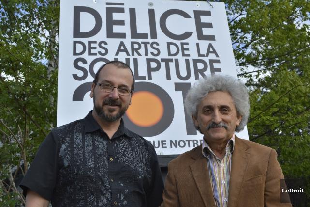 Ovila David Huard et Özgen Eryasa souhaitent faire... (Benoit Sabourin, LeDroit)