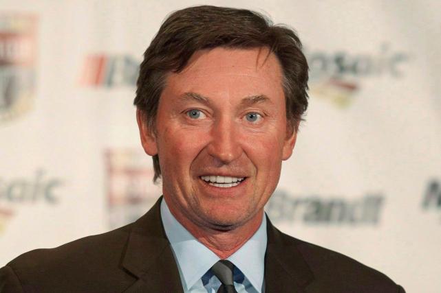 WayneGretzky a travaillé avec Mike Babcock lors des... (Photo Liam Richards, archives PC)