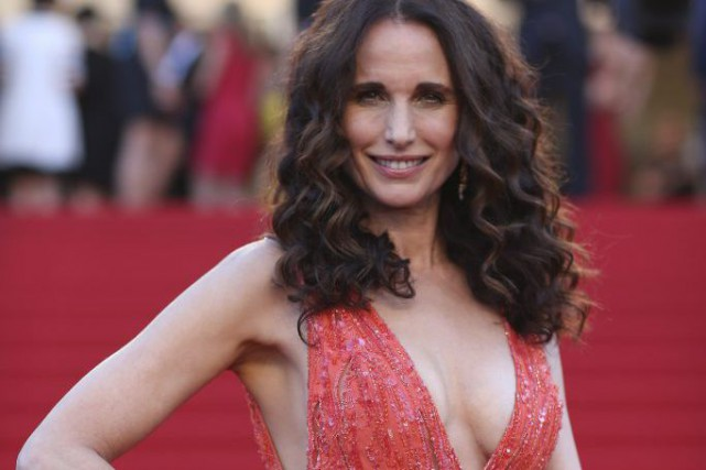 Andie MacDowell à la projection du film Inside... (Photo: AP)