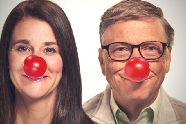 Pour chaque portrait à nez rouge publié sur... (PHOTO TIRÉE DE TWITTER)