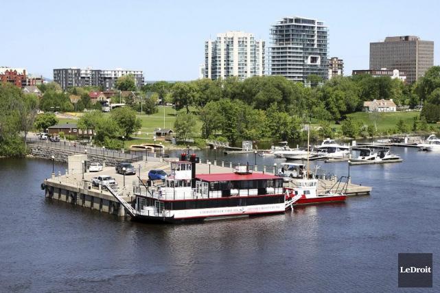 Croisières Outaouais pourra opérer ses bateaux à partir... (Etienne Ranger, LeDroit)