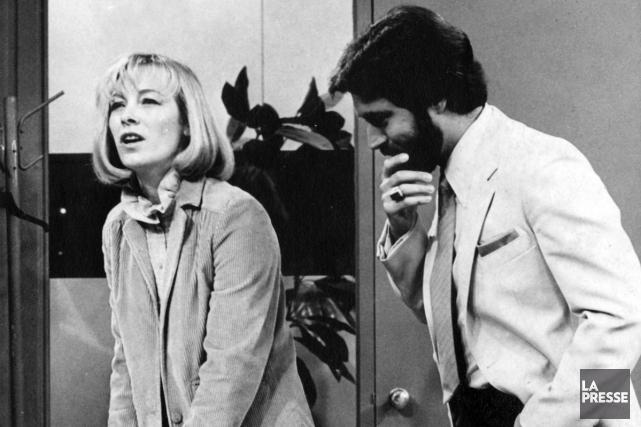 Christine Lamer et Luis De Cespedes, dans le... (Archives, La Presse)