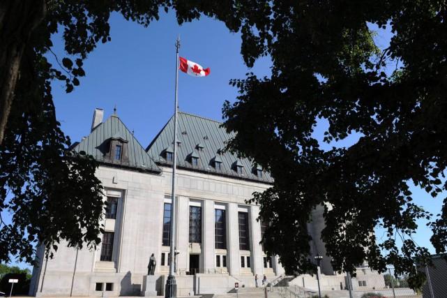 La Cour suprême du Canada.... (Archives, La Presse Canadienne)
