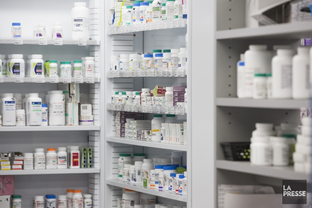 «Grève symbolique» d'une heure des pharmaciensDes pharmaciens Estriens... (Archives La Presse)