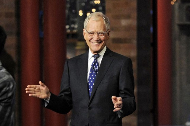 David Letterman... (Photo: AP)