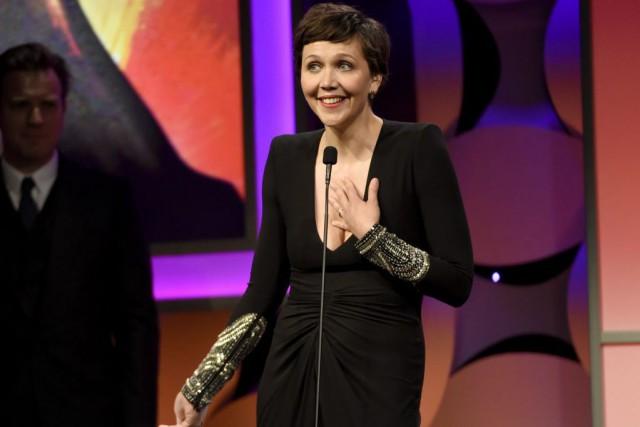 Maggie Gyllenhaal, 39 ans, avait créé l'émotion en... (PHOTO ARCHIVES AP)