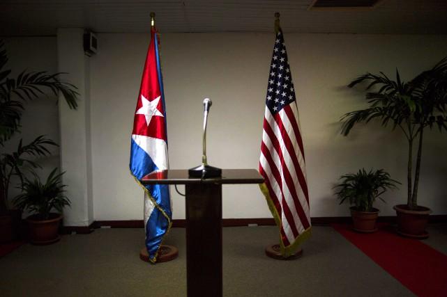 Les entretiens entre les deux pays vont se... (PHOTO ARCHIVES AP)