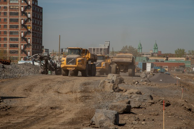 Le futur complexe de l'Université de Montréal accueillera... (PHOTO BERNARD FOUGÈRES, COLLABORATION SPÉCIALE)
