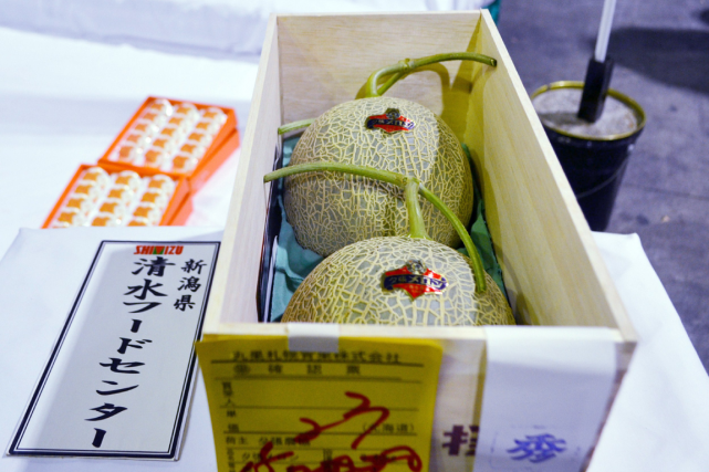 Les melons cantaloups dits Yubari sont la marque... (Photo AFP)