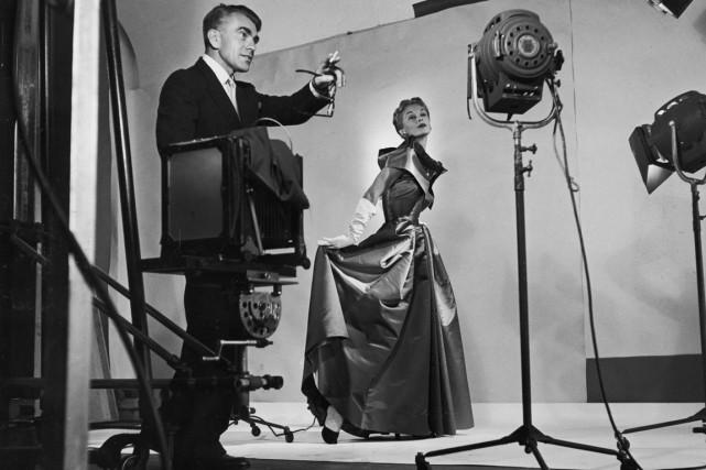Une des photos de l'expositionHorst: photographe de l'éléganceprésentée... (Photo Roy Stevens, Time & Life Pictures/Getty Images)