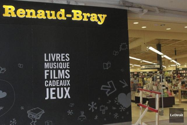 Les librairies Renaud-Bray et Diffusion Dimedia ont annoncé vendredi la fin... (Photo Étienne Ranger, archives LeDroit)