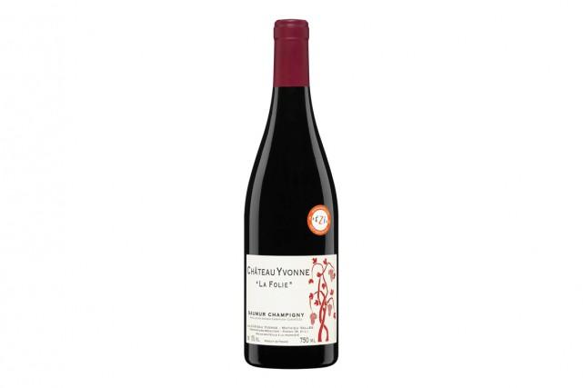 Vin rouge de la Loire, fait que de Cabernet franc, il se présente avec un... (PHOTO FOURNIE PAR LA SAQ)