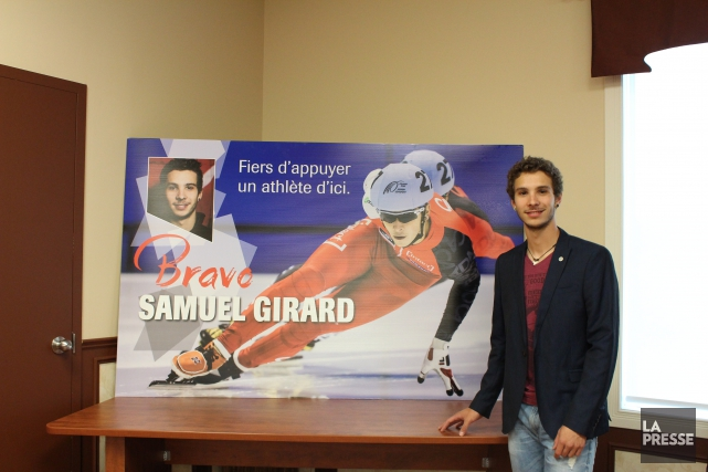 Une affiche de Samuel Girard sera maintenant à... (Courtoisie)