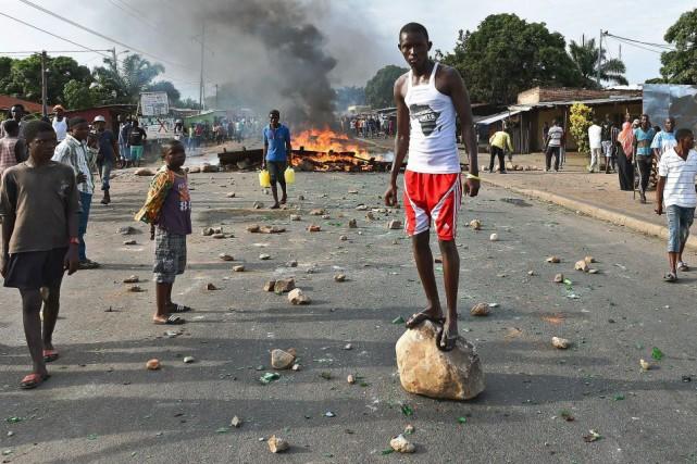 Le Burundi est en pleine tourmente politique, alors... (PHOTO Carl de Souza, ARCHIVES AFP)