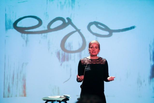 Marie-Ève Lécine estime que la méditation permet de... (Photo Cédric Abunar)