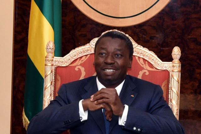 Faure Gnassingbé avait été porté au pouvoir par... (Photo ISSOUF SANOGO, AFP)
