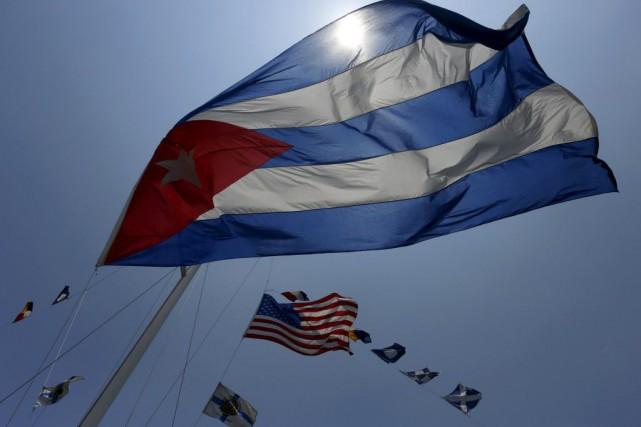 À Cuba, le retrait de l'île de la... (Photo Reuters)