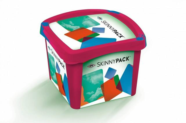 Le Skinnypackd'IPL est un produit économique et écoresponsable,... (Photo fournie par IPL)