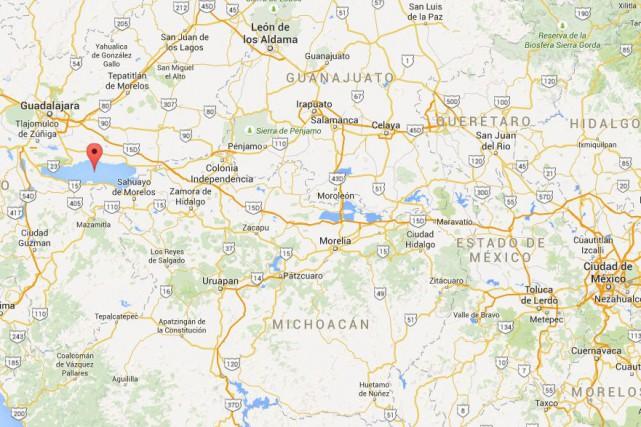 Deux Canadiens seraient morts dans un accident de bateau au Mexique, selon des... (CAPTURE D'ÉCRAN GOOGLE MAPS)