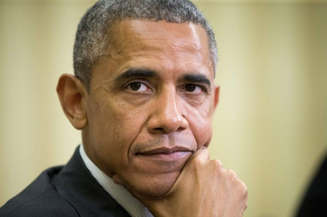 Barack Obama... (Photo Pablo Martinez Monsivais, AP)