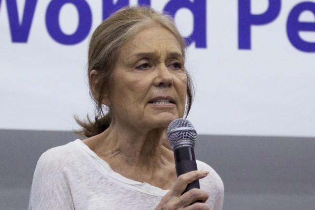 L'activisteGloria Steinem... (Photo Andy Wong, AP)