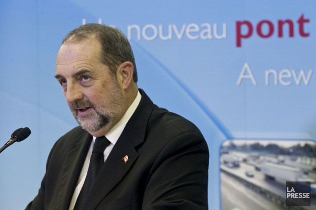 Denis Lebel, lieutenant québécois de Stephen Harper.... (PHOTO HUGO-SÉBASTIEN AUBERT, ARCHIVES LA PRESSE)