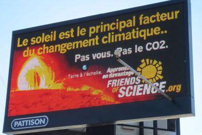 En novembre dernier, l'organisme Friends of Science fait...