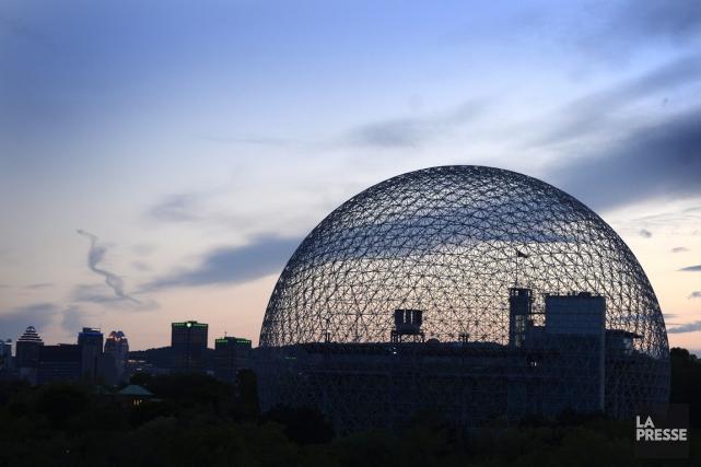 Le philosophe, penseur et «designer d'anticipation» Buckminster Fuller croyait... (PHOTO BERNARD BRAULT, LA PRESSE)
