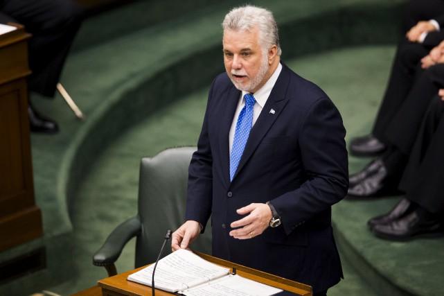 Le premier ministre Philippe Couillardpourra échanger directement pendant... (PHOTO MARK BLINCH, ARCHIVES REUTERS)