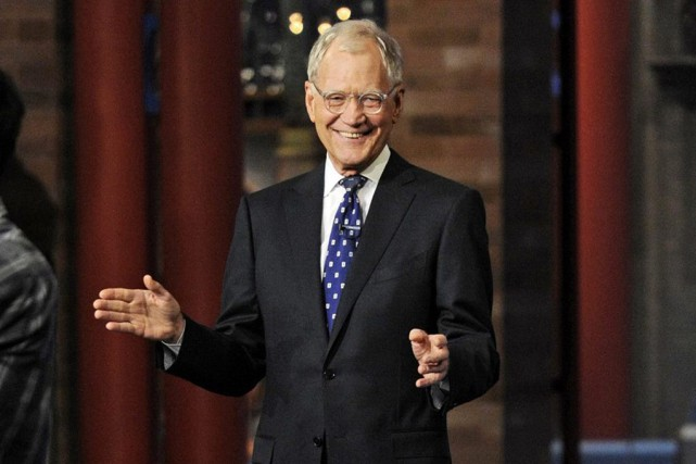 David Letterman... (PHOTO AP/CBS)