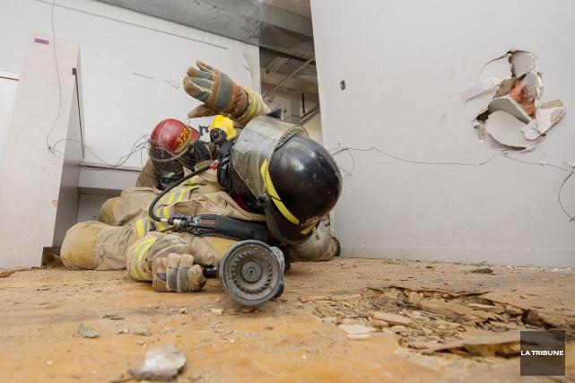 L'Estrie aura son propre centre d'entraînement et de qualification de pompiers... (Archives, La Tribune)