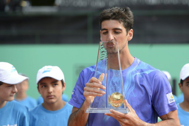 Thomaz Bellucci... (PHOTO MARTIAL TREZZINI, AFP)