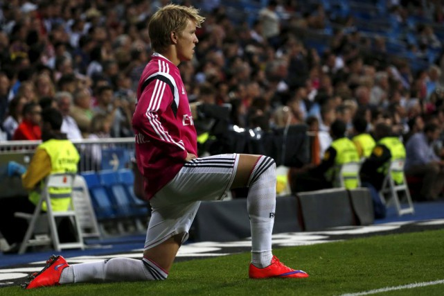 Martin Odegaard... (PHOTO JUAN MEDINA, REUTERS)
