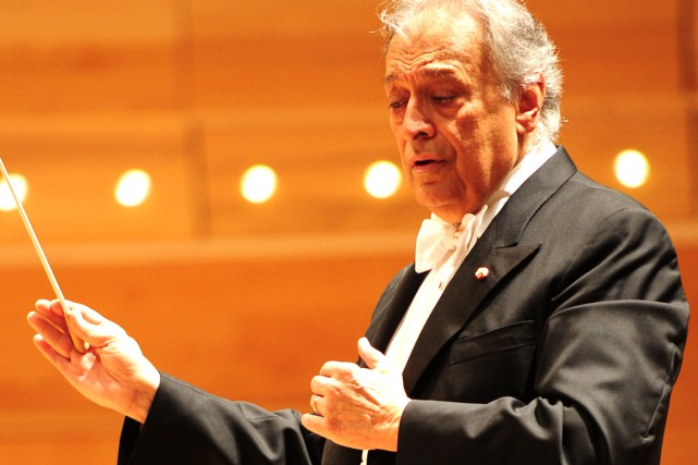 Zubin Mehta a dirigé les six mouvements de... (Photo Paul Doumit)