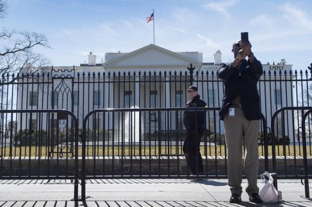 Selon le département d'État, cette nouvelle disposition «est... (PHOTO JIM WATSON, archives AFP)
