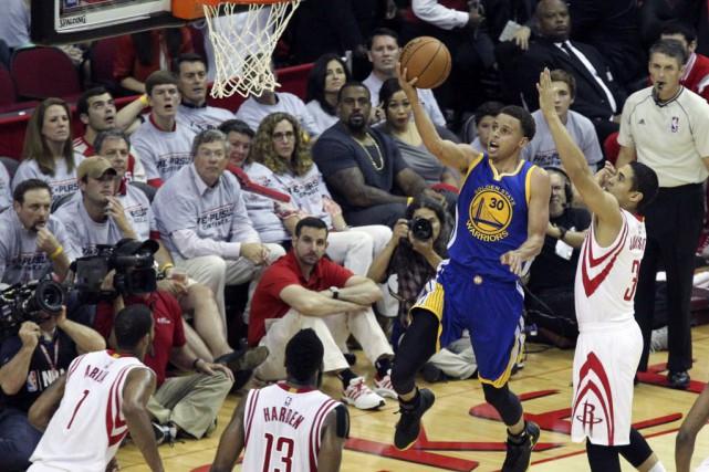 Les Warriors ont étouffé d'entrée leurs adversaires qui... (Photo Thomas B. Shea-USA TODAY Sports)