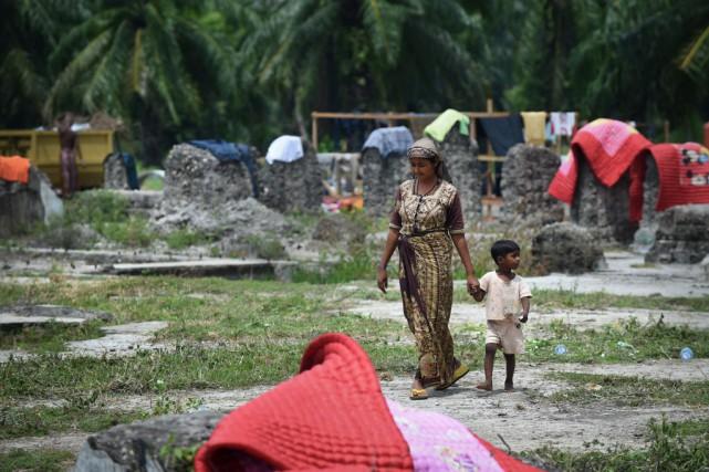 Plus de 3500 migrants sont arrivés ces derniers... (PHOTO ROMEO GACAD, AFP)