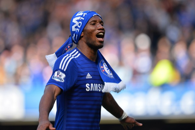 Didier Drogba... (PHOTO GLYN KIRK, AFP)
