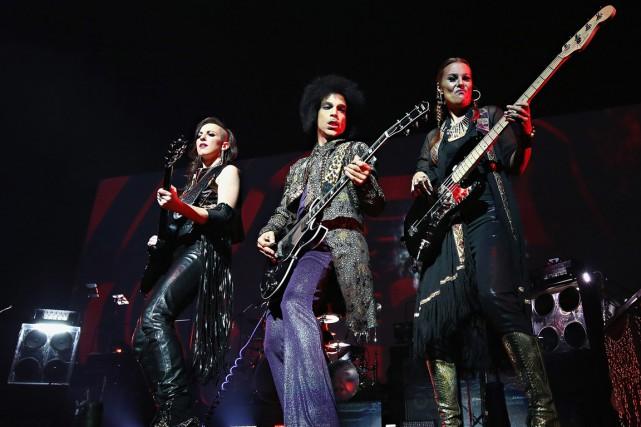Les musiciennes de 3rdEyeGirl accompagnaient Prince, samedi au... (PHOTO FOURNIE PAR CINDY ORD/ NPG RECORDS)