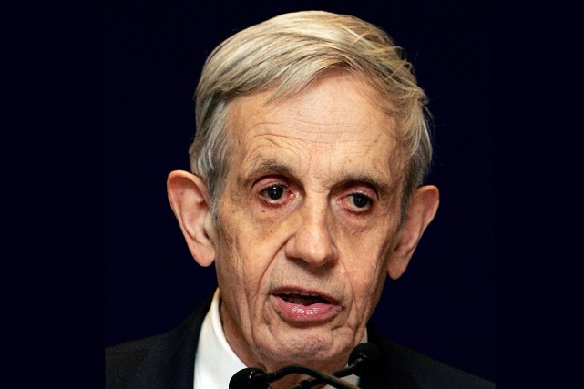 John Nash, photographié en 2007.... (Photo archives AFP)