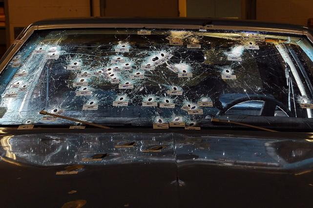 Le policier Bredo avait pour sa part tiré... (Photo AP)