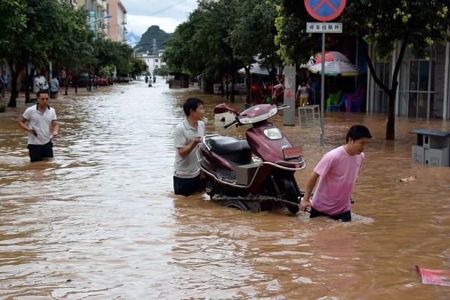 Selon le Centre national de météorologie, une amélioration... (Photo AP)