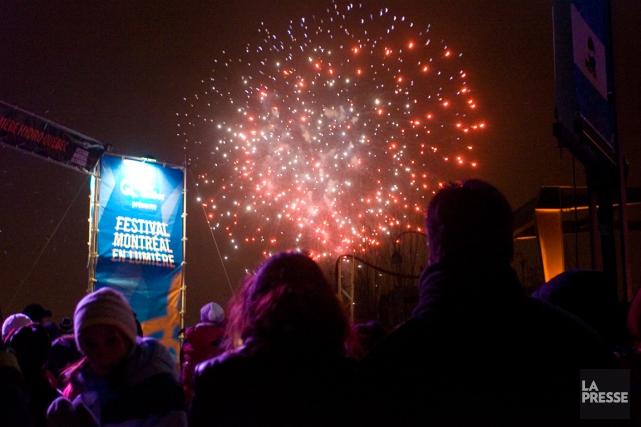 Le festivalMontréal en lumière est l'undes 28 événements... (PHOTO FRANÇOIS ROY, ARCHIVES LA PRESSE)