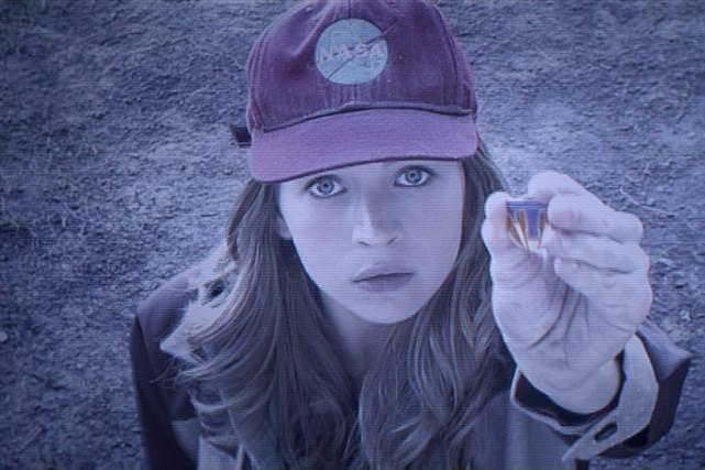 Britt Robertson dans une scène de Tomorrowland.... (PHOTO FOURNIE PAR DISNEY)